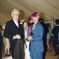 Michael Brand and Maria Carmela Viscountess Hambleden