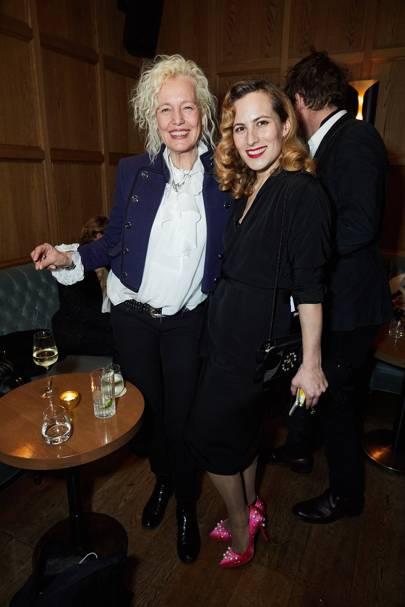 Ellen von Unwerth and Charlotte Olympia-Dellal