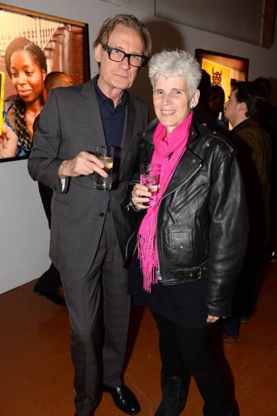 Bill Nighy and Harriet Wilson