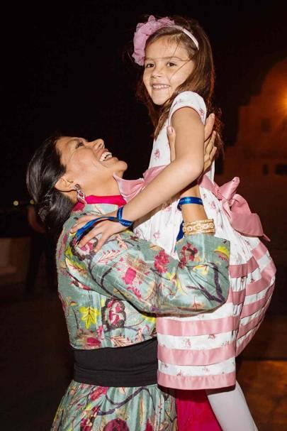 Ana Lelliott and Lizeth Herrera