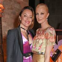 Alice Temperley and Joely Richardson
