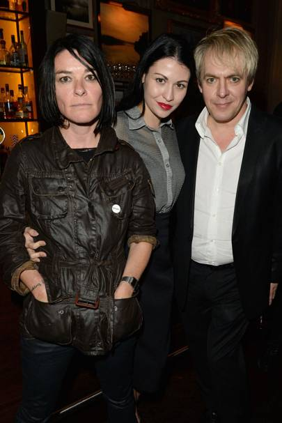 Sue Webster, Nefer Suvio and Nick Rhodes