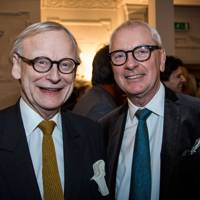 Baron Deben and Peter Sheppard