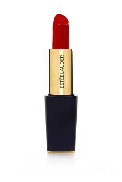 Pure Color Envy Sculpting Lipstick in Vengeful Red, £27