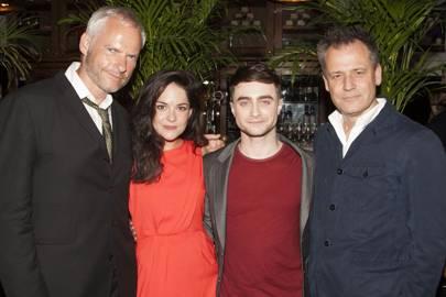 Martin McDonagh, Sarah Greene, Daniel Radcliffe and Michael Grandage