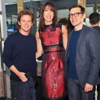 Christopher Kane, Samantha Cameron and Erdem Moralioglu