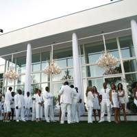 P Diddy's Hampton's party