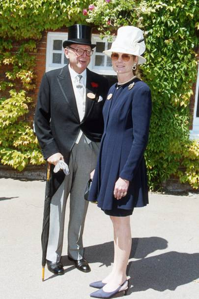Christopher Shaw and Lady Mary Gaye Curzon