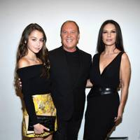 Carys Zeta Douglas, Michael Kors and Catherine Zeta-Jones