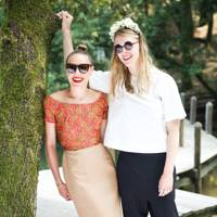 Mia Moretti and Gaia Weiss