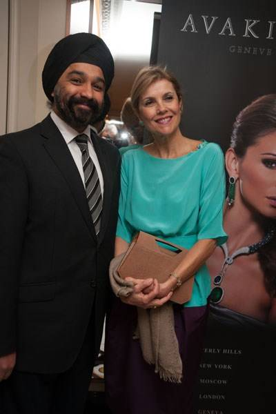 Harpal Kumar and Lady Palumbo
