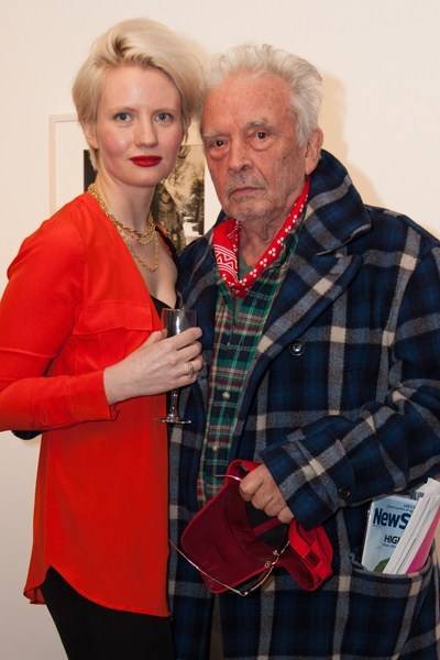 Megan Piper and David Bailey