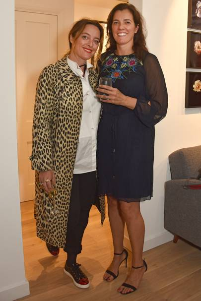 Alice Temperley and Nicky Carter