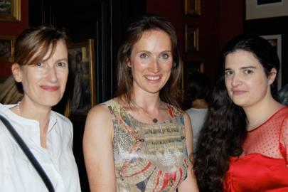 Georgina Paget, Joanna Hogg and Kate Maltby