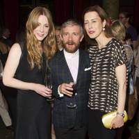 Lauren O'Neil, Martin Freeman and Gina Mckee