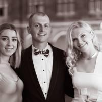 Jessie Barnett-Cox, Ed Parkhouse and Rebecca Wylie