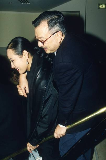 Mrs Michael Chow and Michael Chow