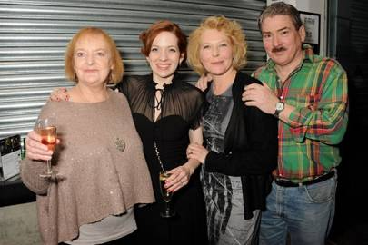 June Watson, Katherine Parkinson,  Stella Gonet and Michael Thomas