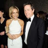 Emily Maitlis and Hugh Grant