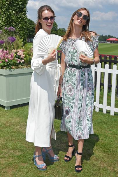 Lady Violet Manners and Lady Alice Manners