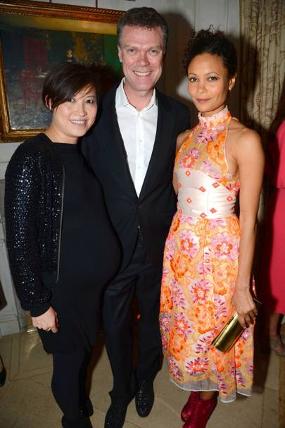 Sandra Choi, Pierre Denis and Thandie Newton