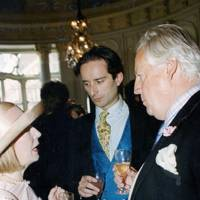 Mrs David Ryder, Viscount Cranley and David Ryder