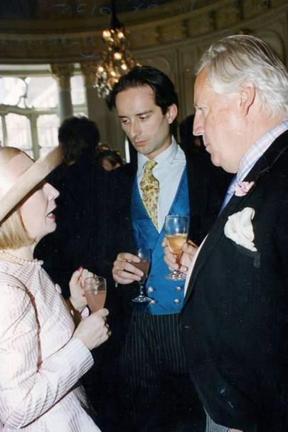 Mrs David Ryder, Viscount Cranley and David Ryder