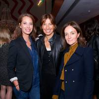 Daniela Agnelli, Maya Fimennes and Christy Turlington Burns