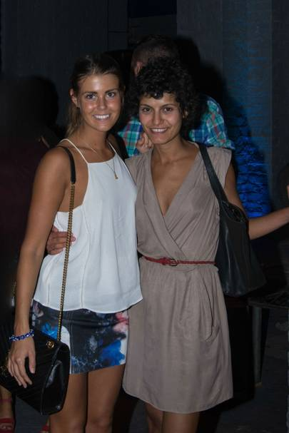 Caroline Holst and Farah Dib