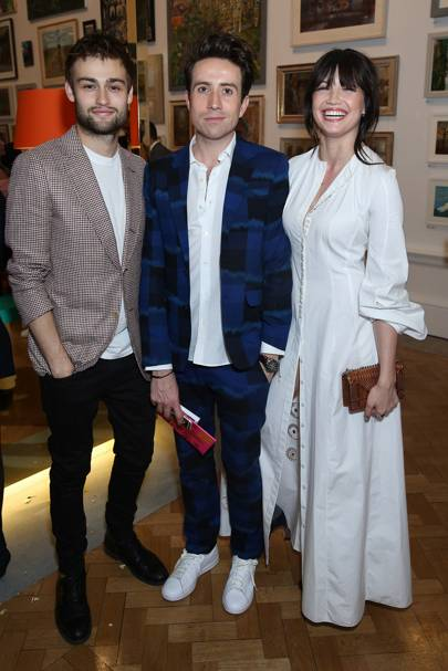 Douglas Booth, Nick Grimshaw and Daisy Lowe