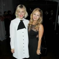 Helene Yorke and Vanessa Ray