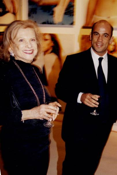 Mrs Zehava Dellal and Guy Dellal