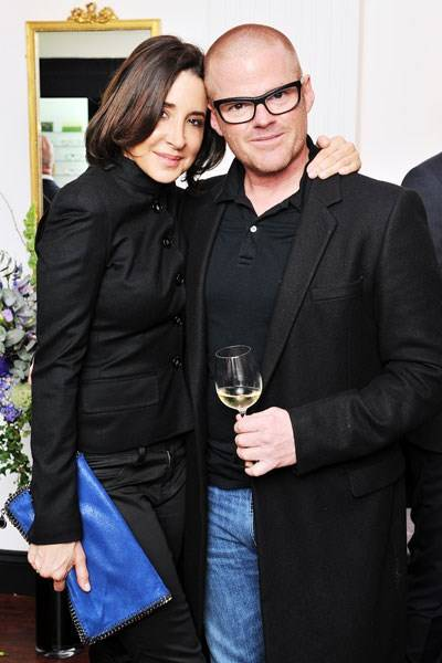 Suzanne Pirret and Heston Blumenthal