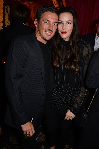 Dave Gardner and Liv Tyler