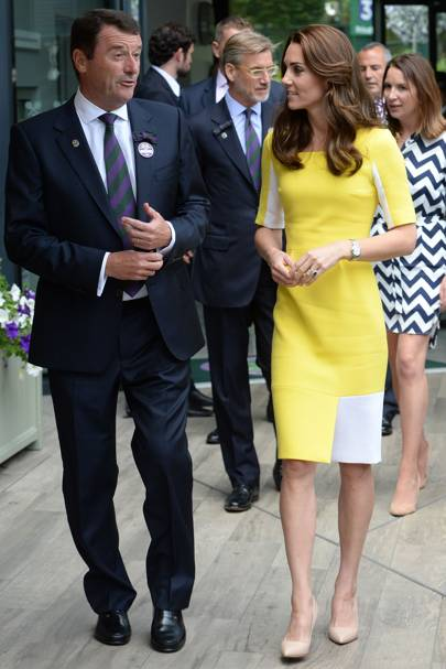 Phillip Brook and The Duchess of Cambridge