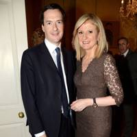 George Osborne and Arianna Huffington