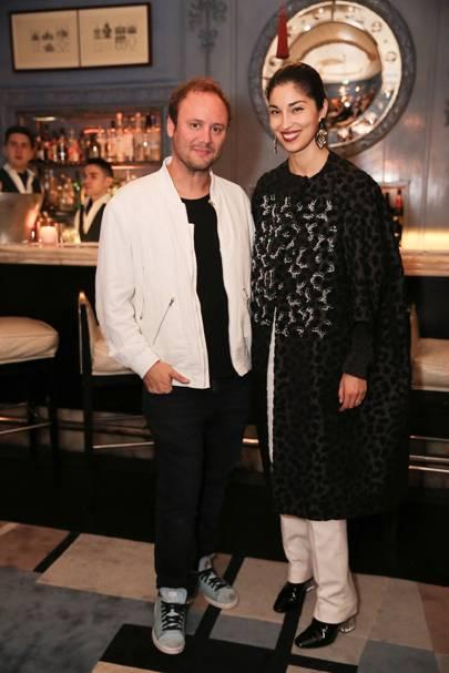 Nicholas Kirkwood and Caroline Issa
