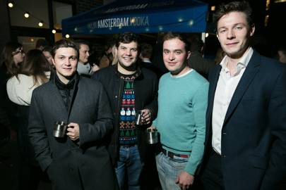 Guy Signy, Will Campbell-Lamerton, Henry Robson and Luke Saunders
