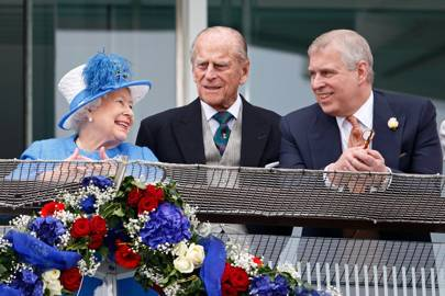 The Queen, the Duke of Edinburgh and the Duke of York