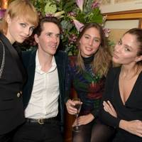 Edie Campbell, Otis Ferry, Jemima Jones and Quentin Jones
