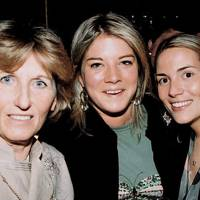 Mrs Richard Becher, Chrissie Baker-Harbor and Samantha Would