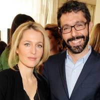 Gillian Anderson and Paul van Zyl
