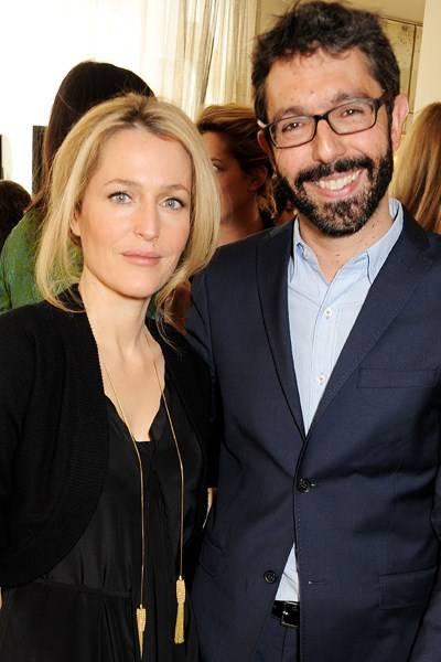 Gillian Anderson and Paul van Zyl