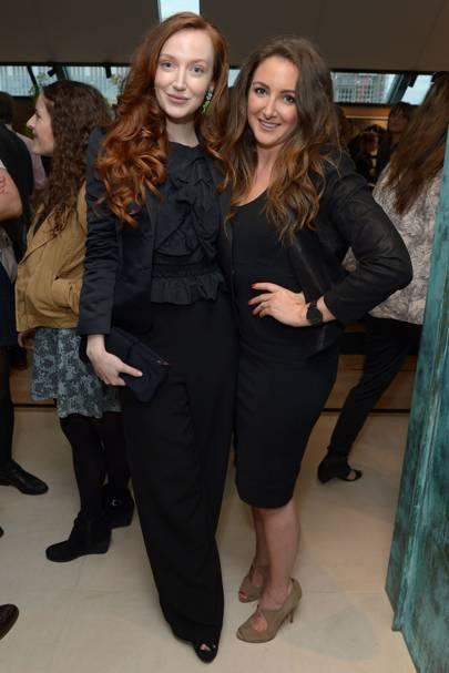 Olivia Grant and Natasha Corrett