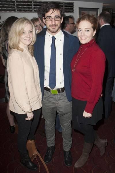 Rachel Finnegan, Ferdinand Kingsley and Charlotte Lucas