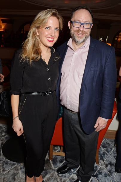 Kate Garvey and Jimmy Wales