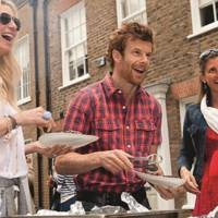 Jenny Halpern Prince, Tom Aikens and Justine Dobbs Higginson