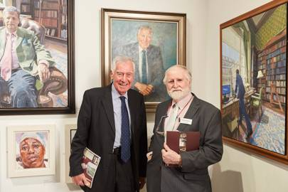 Sir Eric Anderson and Michael Noakes