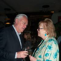 Martyn Lewis and Lady Antonia Fraser