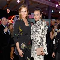 Karlie Kloss and Arizona Muse